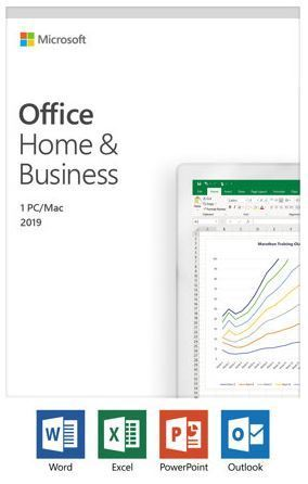 MS Office Home and Business 2019 Suomi